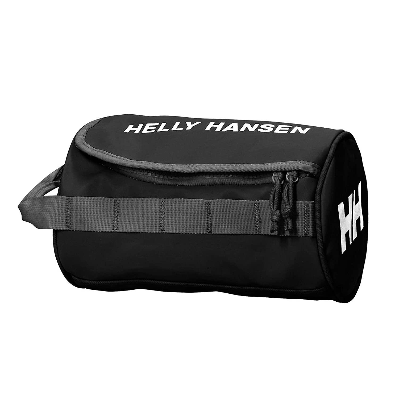 Helly Hansen Wash 2 - Bolsa de lavado, talla única, color Negro (990 Black/Off White/Birch) 68007
