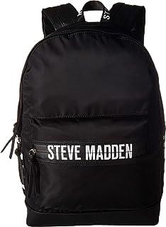 73f1182d32 Amazon.com: Steve Madden Men's Solid Nylon Classic Backpack, Deep ...