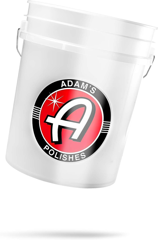Adam's Grit Guard Detailing Wash Bucket (Bucket Only)
