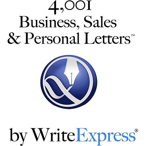 4 001 Business Sales Personal Letters By Writeexpress Stuck Writing You Will Love These Letter Writing Templates Kindle Edition By Stevens Robert John Barkdull Larry Cano Jennifer Eliason Eric A Heaps Stacie Helps Louise Squire Scott