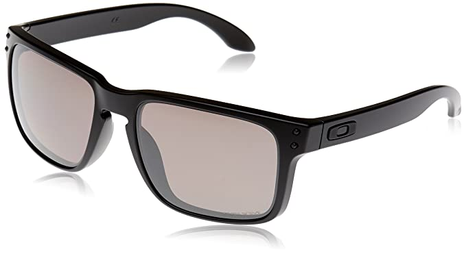 Oakley Sonnenbrille Holbrook, Gafas de Sol Polarizadas Unisex, Negro (Matte Black/Prizm