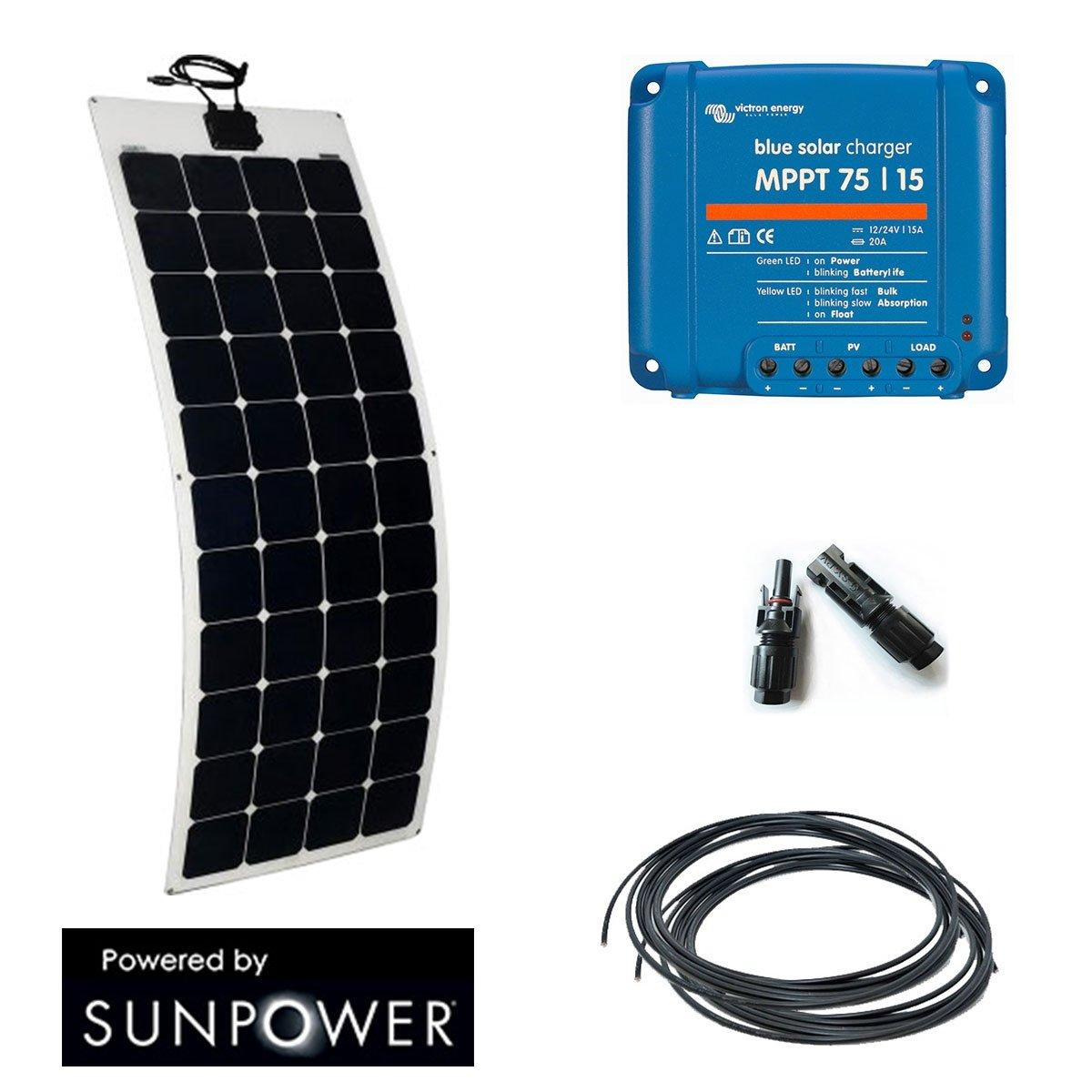 Solar 135w, 12 V, flexibel, Wohnmobil, Boot