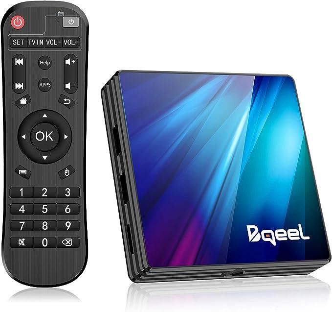 150 opinioni per Bqeel Android 9.0 TV Box R1 PLUS, 4GB RAM+64GB ROM / CPU RK3318 Quad-Core 64bit