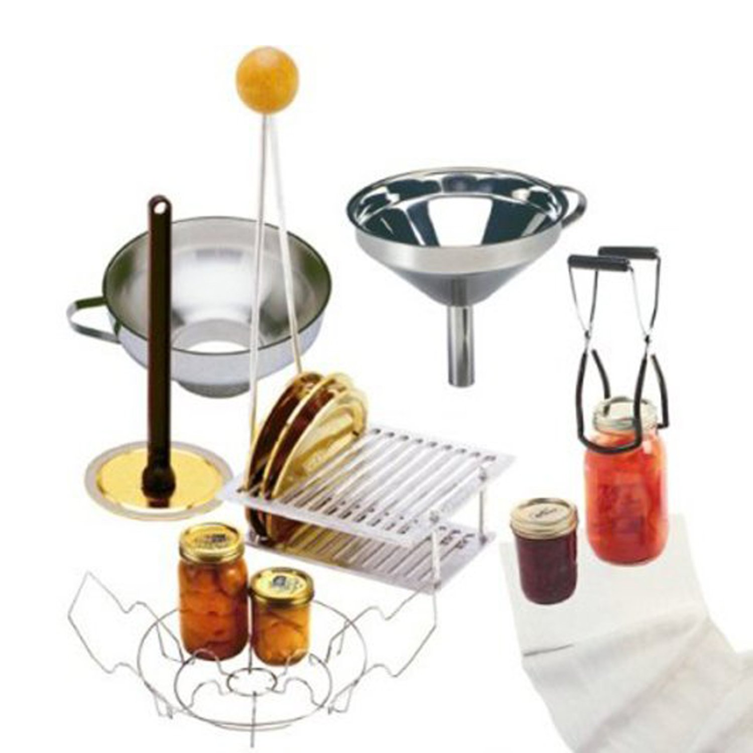 Norpro 2478367600456 7-Piece Home Canning Set