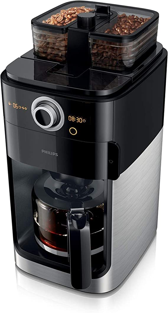 Philips Grind & Brew HD7769/00 - Cafetera (Independiente, Cafetera ...