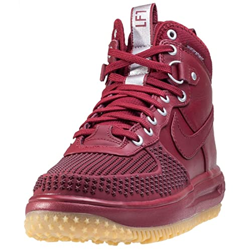 13b7bd1e8919 Nike Lunar Force 1 Duckboot Mens Chukka Boots Dark Red - 6 UK ...