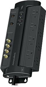 Panamax M8-AV-PRO Home Theater Power Management (Black)