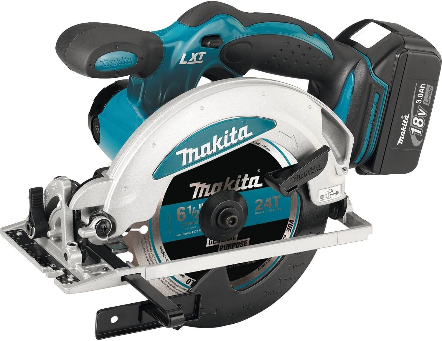 Makita XSS01 18V LXT Lithium-Ion Cordless 6-1 2-Inch Circular Saw Kit Discontinued by Manufacturer