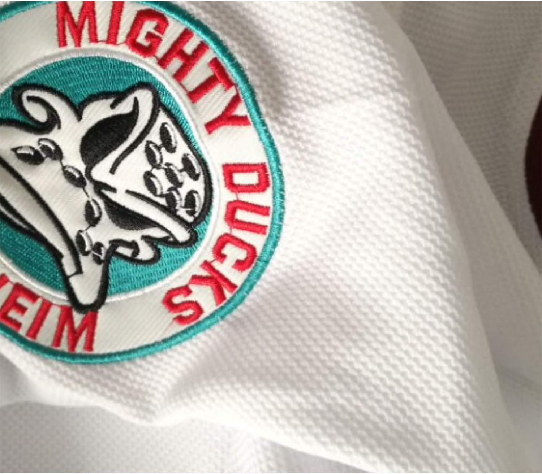 AIFFEE Mens Hockey Jersey #96 Conway Ducks Ice Hockey Jerseys White Color Size S-3XL
