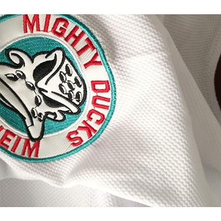 2617fa58b Amazon.com   AIFFEE Men s Hockey Jersey Goldberg 33 Ducks Ice Hockey  Jerseys White Color Size S-3XL   Sports   Outdoors