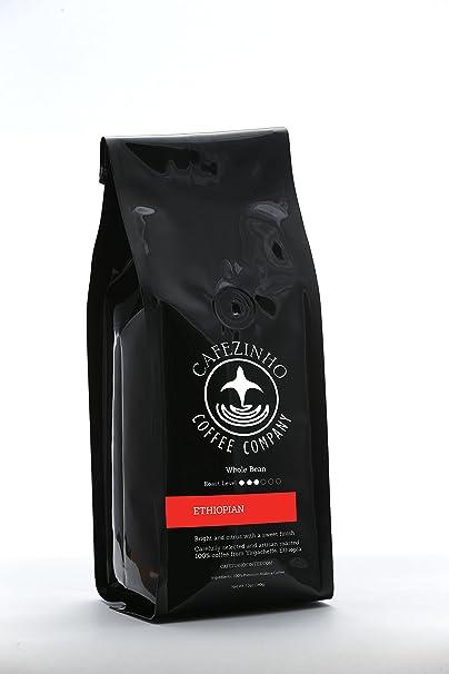 Amazon.com : Cafezinho Ethiopian Yirgacheffe Mullege 12oz ...