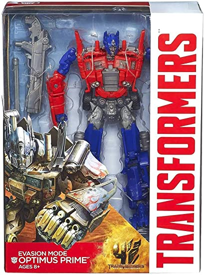 Transformers Age of Extinction Generations Leader Class Optimus Prime Figure New in Box