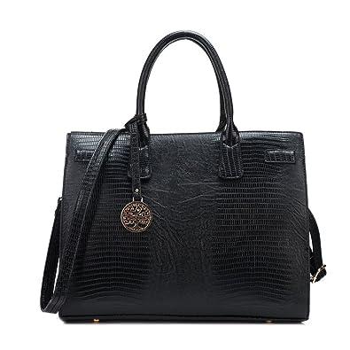 b4e44512c67b SALE Womens  Michael Kors  Style Croc Designer Frame Tote Bag - Ladies City  Handbag  Amazon.co.uk  Shoes   Bags
