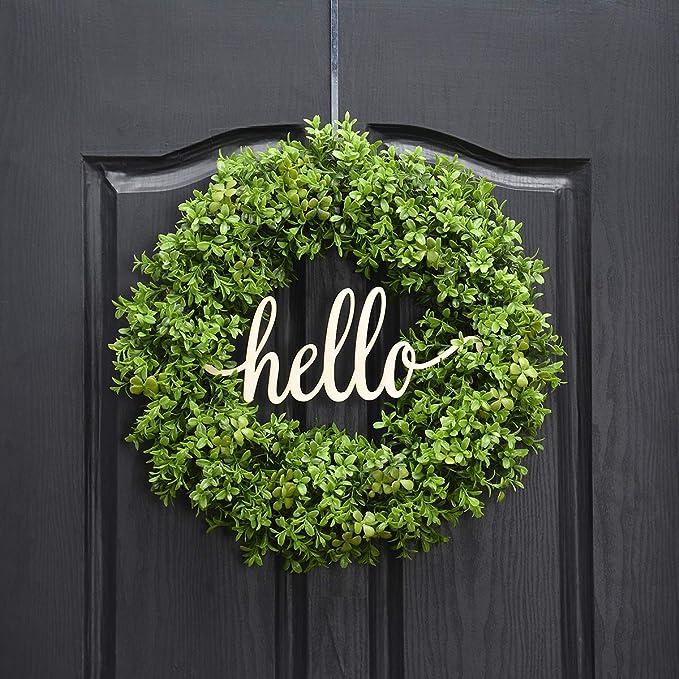 Farm House Wreath 18 inch Wreah Small Wreath Natural Wreath Wreath Country Home Wreath Moss Wreath