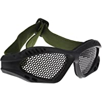Schieten Tactische Airsoft Jacht Zand Metalen Mesh Oogbescherming Bril