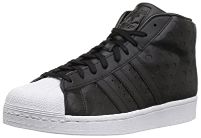 detailed look d99a3 8bb4f adidas Originals Women s Promodel W Running Shoe, Black White, 7.5 Medium US