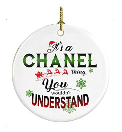 Chanel Christmas Ornaments.Amazon Com Christmas Ornaments It S A Chanel Thing You