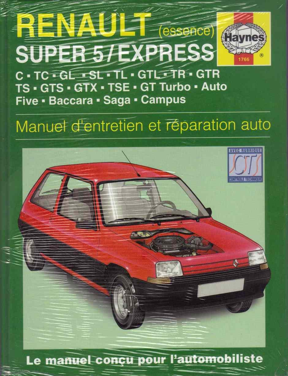 Renault Super 5 & Express Essence (84 - 98) Hardcover – Import, August 30, 2000
