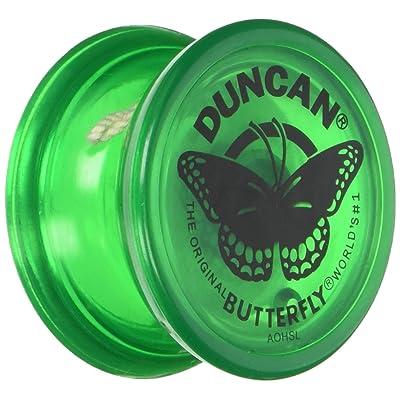 Duncan Butterfly Yo Yo Green: Toys & Games