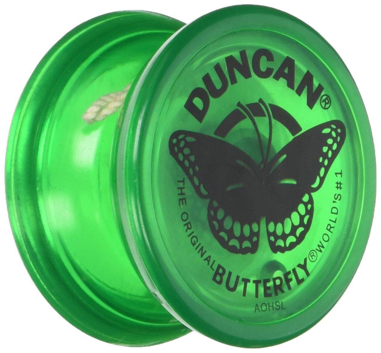 Duncan Butterfly Yo Yo Green