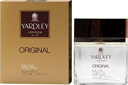 Yardley London - Cartera original Eau de Toilette 50 ml gratis para hombre