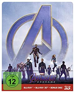 Marvel's The Avengers - Endgame - Limited Steelbook Edition (+ Blu-ray) (+ Bonus Blu-ray) [2019] [Region A & B & C]
