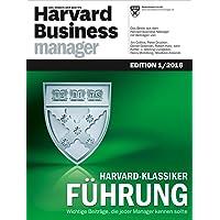 Harvard Business Manager Edition 1/2016: Harvard-Klassiker Führung