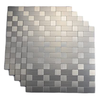Amazon Top Mosaic Peel And Stick Tiles Backsplash Stick On