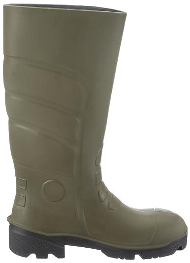 Nora Megamax 75570 - Zapatos de protección S5 unisex, color verde, talla 36