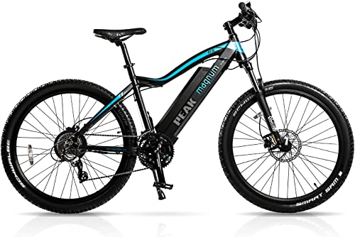 Magnum Peak Premium Electric Mountain Bike 500-700W Motor - Large Capacity 48V13A Lithium Battery Ebikes for Adults