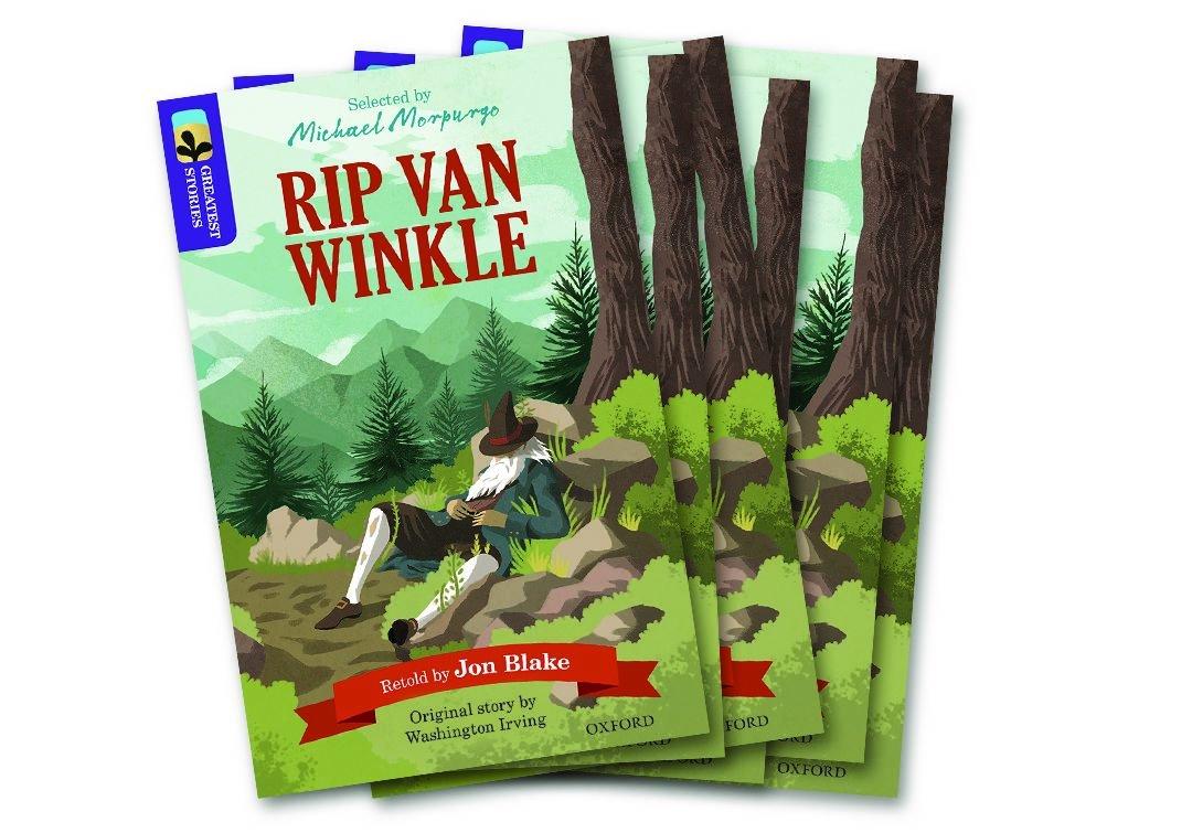 Read Online Oxford Reading Tree TreeTops Greatest Stories: Oxford Level 11: Rip Van Winkle Pack 6 ebook