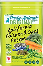 Party Animal California Chicken and Oats Recipe Dry Dog Food 5 lb. bag