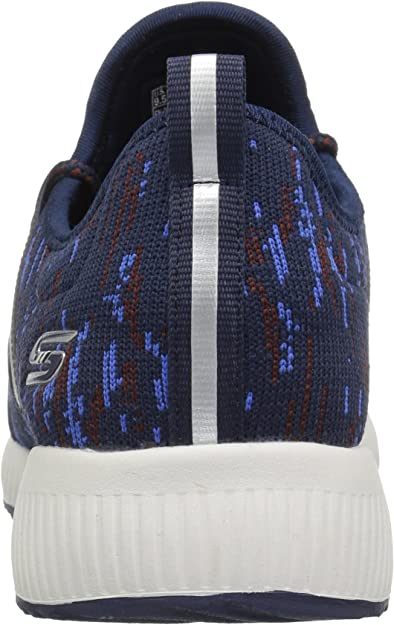 Skechers Bobs Squad Double Dare, Baskets Enfiler Femme