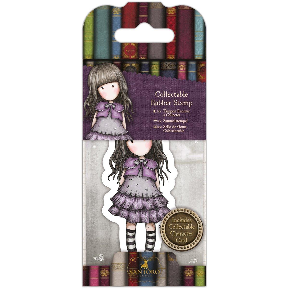 Santoros Gorjuss Rubber Stamps-No 32 Little Violet