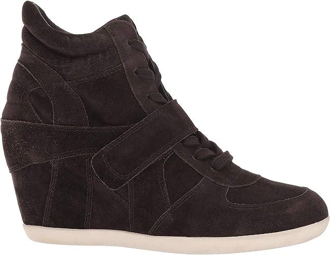 Ash Bowie Hi Top Wedge Sneaker Grey - 8