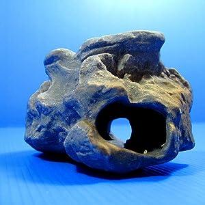 MF Cichlid Stone Ceramic Aquarium Rock Cave Decor