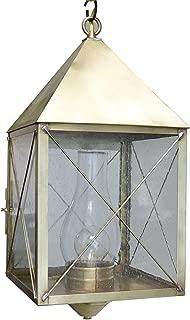 product image for Brass Traditions 512 SXAB Large Hanging Lantern 500 Series, Antique Brass Finish 500 Series Hanging Lantern
