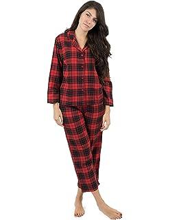Leveret Womens Flannel Pajamas 2 Piece Christmas Pajama Set Size X-Small-XX- 77ec2c488