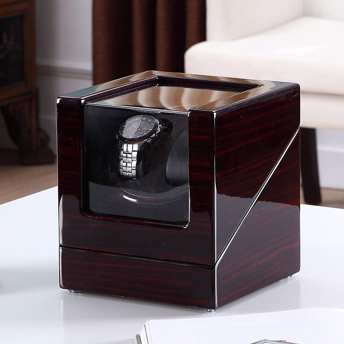 HiPai Automatic Double Watch Winder, Quiet Motor 5 Rotation Modes Self Winding Watch Rotator Box