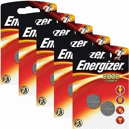 Comprar Energizer – Pilas de Litio CR 2032 (3 V, 5 Paquetes x 2 Unidades)