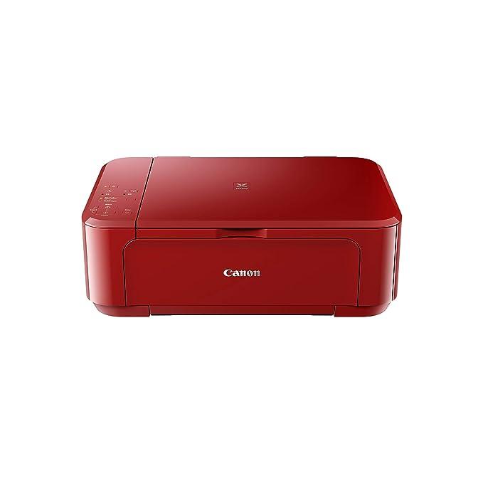 Canon PIXMA MG3650S Inyección de Tinta 4800 x 1200 dpi A4 WiFi - Impresora multifunción (Inyección de Tinta, Impresión a Color, 4800 x 1200 dpi, Copia a Color, A4, Rojo)