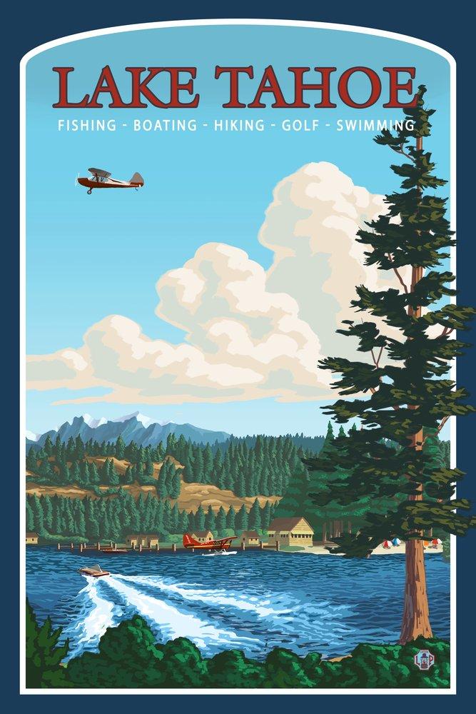 バーゲンで Lake Tahoe、CA Giclee Ceramic Coaster Print Set Print LANT-8796-CT B00N5CNG9W 24 x 36 Giclee Print 24 x 36 Giclee Print, かきもと米穀のよしだ小町:476839e2 --- ballyshannonshow.com