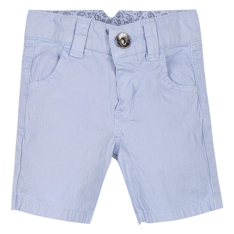 3 Pommes Baby Boys' Shorts Blue (Bleu Grise 42) 9-12 Months 3L25093