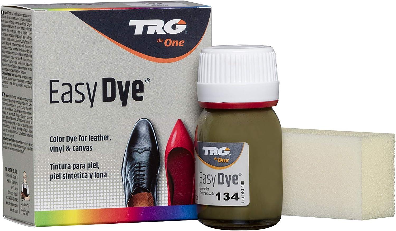 TRG The One - Tinte para Calzado y Complementos de Piel | Tintura para zapatos de Piel, Lona y Piel Sintética con Esponja aplicadora | Easy dye #134 ...