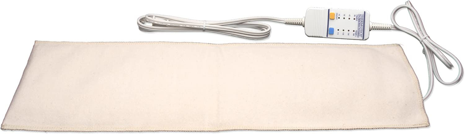 ThermotechAutomatic Digital Moist Heating Pad Heating Pad, Beige, Small (19 x 7 Inches)