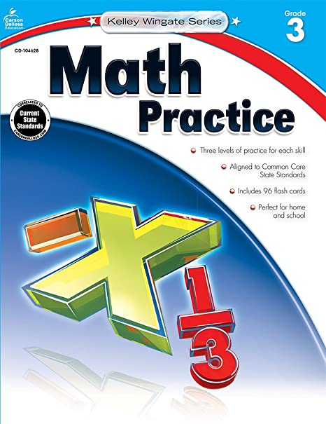 Math practice grade 1 kelley wingate carson dellosa publishing math practice grade 1 kelley wingate carson dellosa publishing 9781483804996 amazon books fandeluxe Gallery