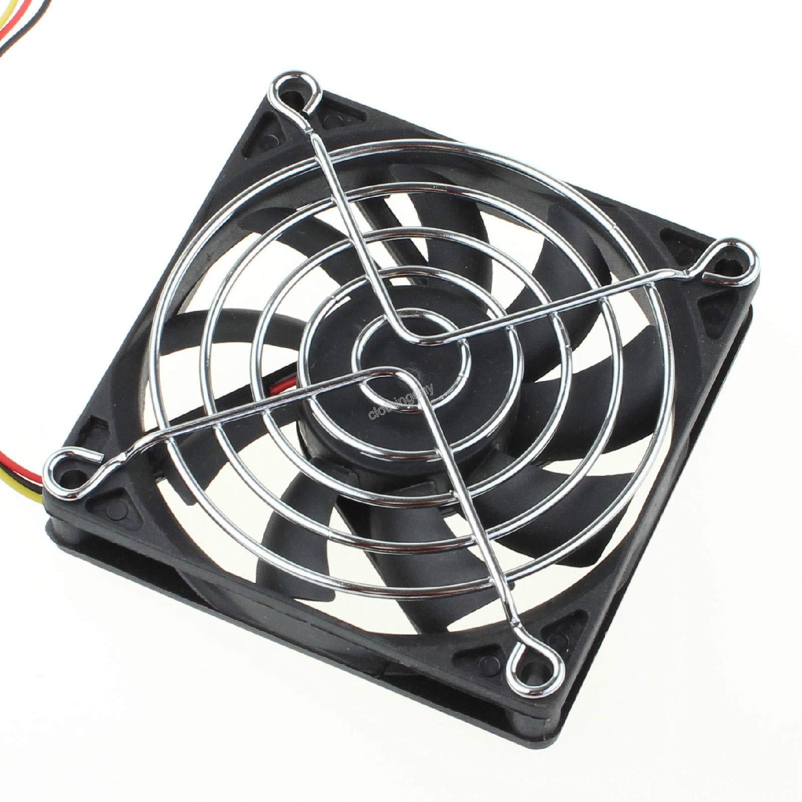 FidgetFidget 100pcs Metal Wire 80mm 8cm Fan Protector Finger Guard Grill Case Net