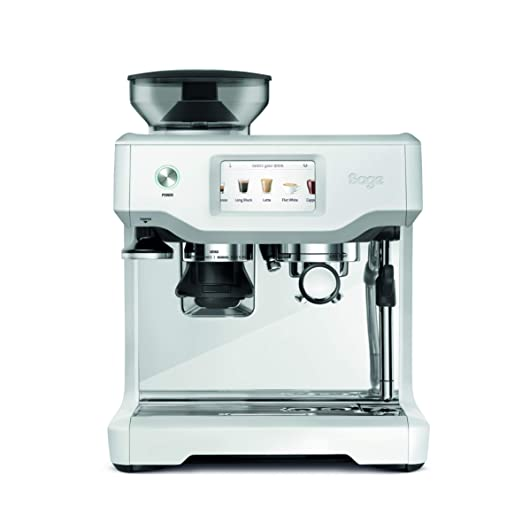Sage Appliances SES880 - Cafetera espresso, color blanco ...