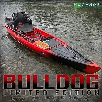 Amazon.com: Nu Canoe Frontier 12 Kayak con asiento de lujo ...