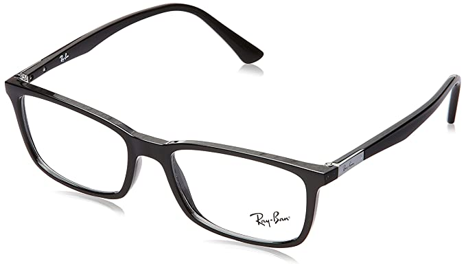Ray-Ban Full Rim Shield Men\'s Spectacle Frame - (0RX7127II200053|53 ...